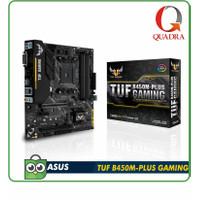 ASUS TUF B450M-PLUS GAMING (AMD AM4, AMD B450, DDR4)