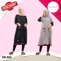 Baju Tidur Daster Wanita Muslimah Dewasa Busui Friendly Katun Murah
