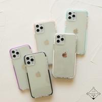 ANTI KUNING YELLOW Case Iphone 11 12 MINI PRO MAX Casing Simple Bening
