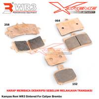 Kampas Rem WR3 Sintered Untuk Kaliper Brembo 4P1P 2P1P M4 GP4RS M50