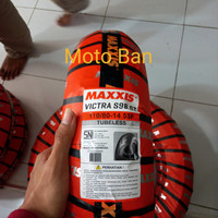 Ban Motor Yamaha Aerox. Maxxis Victra S98 ST. 110/80-R14. Tubeless.