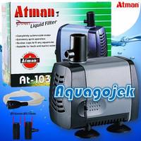Atman AT-103 Pompa Celup Aquarium Kolam Submersible Water Pump.