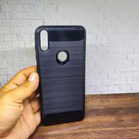 Softcase Asus X00TD Black Carbon Fiber Case Asus Zenfone Max Pro M1