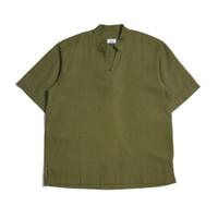 Sera Marrakesh Pullover Linen Shirt Basil Green Baju Muslim Pria - L