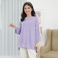 Korean Knit Blouse Beatrice Clothing - Sweater Knit Wanita