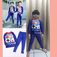 Baju renang anak cowok Cewek 1thn-10thn PAC MAN import