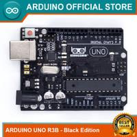 Arduino Uno R3B Black Edition Atmega328P DIP mega16u2 Original Desig