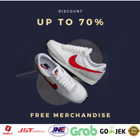 Sepatu Nike Daybreak White Swosh Red ORIGINAL