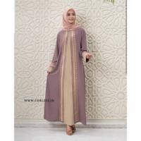 DUBAI DRESS Baju Gamis Wanita Terbaru 2020 Gamis Renda Gamis Muslim Wa - Millo