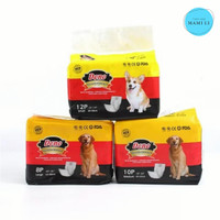 Popok Anjing Jantan/Pempers Anjing Dono Disposable Diapers Male Size S