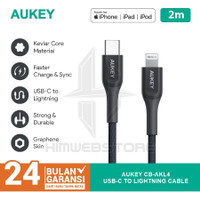 AUKEY CB-AKL4 Kabel PD USB Type-C To Lightning Fast Charging Iphone