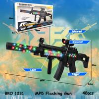MP5 Mainan Anak Pistol Pistolan Tembak Tembakan Bunyi Suara BRO1231