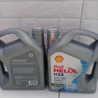 Oli mesin Shell Helix HX8 5W-30 4liter