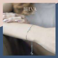 Gelang Berlian / Bracelet Solitaire - Belva Jewellery - BABEAU017783