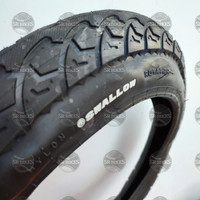 Ban Luar 16 x 3.0 Sepeda Listrik BMX FAT BIKE. SWALLOW DELI TIRE - SA-210A HITAM