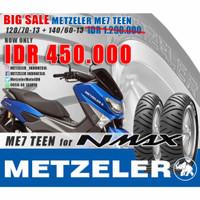 BAN MOTOR YAMAHA NMAX METZELER ME7 TEEN 120/70-13 140/60-13 TERMURAH