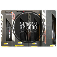 Ban Luar Road Bike Continental GP 5000 700x 23-32c GP5000 Clincher