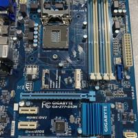 Mobo Gigabyte Z77-DS3H support grn 3 tanpa backpanel