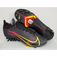 Sepatu Bola - Soccer Nike Mercurial 14 Elite Black Cyber Yellow - FG