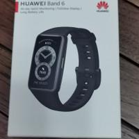 Huawei Band 6 Black Resmi + screen Guard