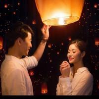 LAMPION TERBANG SKY LANTERN RAMADHAN IDUL FITRI