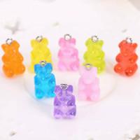 Charm Liontin Bandul Gummy Bear Cabochon Gelang Kalung Bahan Aksesoris