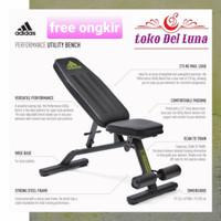 ADIDAS PERFORMANCE UTILITY BENCH kursi gym / fitness / sit up bench