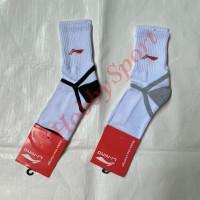 Kaos Kaki Panjang Lining A Olahraga Lari Badminton Sport Kaus Running