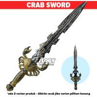 Mainan Anak Laki Cowok Senjata Pedang Pedangan Keren Craw Sword Crome