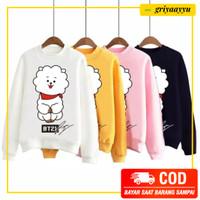 Sweater Murah Wanita Lengan Panjang RJ BT21 Baju Pakaian Setelan Anak