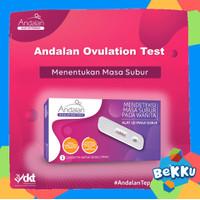Andalan Ovulation Test Kit (Alat Tes Masa Subur) / beKKu - Test Kesuburan
