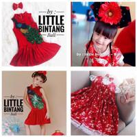 Putri Cina Baju Imlek Anak Perempuan/ Bando Cina