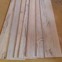 Promo Kayu balsa sheet 2mm x 10cm x 1meter untuk maket Grade B-