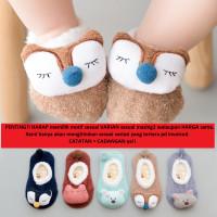 Sepatu bayi kaos kaki BONEKA / SOFT baby socks shoes prewalker