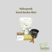Hidroponik Dutch Bucket Kit Mini - Purie Garden Paket