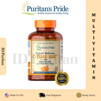 Puritan Pride Vitamin C-1000mg with Rose Hips Time Release 250 Caplets