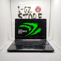 Laptop Rendering MSI MS-1492 i7 Nvidia GTX 16/512 SSD Mulus No Minus