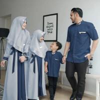 couple family ceria abu baju pasangan keluarga lebaran cema ktf
