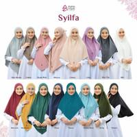Hijab Syilfa Bahan jersy Stella Menyerap Keringat By Azkia Hijab
