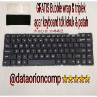 Keyboard Asus A442 A442U X442 X442U A442UF A442UQ A442UR A441UV Hitam