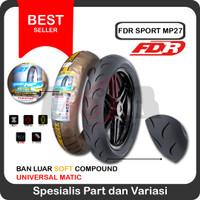 FDR 90/80-14 MP27 Race Soft Compound Racing Ban Luar Motor Matic Balap
