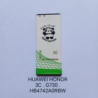 Baterai Honor 3C . G730 . HB4742A0RBW RKP Battery Batray Batere
