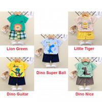 Baju Setelan Anak Comfy Totem Ukuran 73 atau 2-6 Bulan / pakaian bayi