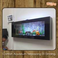 Aquarium dinding tanpa kuras