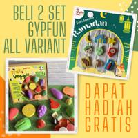 Mainan Anak Edukasi Patung Lukis Gypsum GypFun Art & Craft Aktifitas