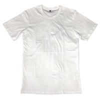 Kaos Polos Paper Plane Clothes Warna Putih Bahan Katun Premium - S