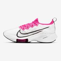 Nike Air Zoom Tempo Next% FK Women Running Shoes - White/Black-Pink