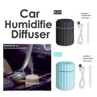Car Air Purifier Humidifier Aromatherapy USB Air Diffuser