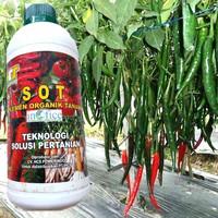 Pupuk organik Cair SOT HCS/Meningkatkan produksi tanaman cabe ,tomat
