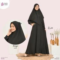 Khimar Araya Bergo Wollpeach Bertali Pet Antem By Azkia Hijab